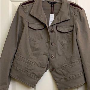 White House Black Market Brand New Jacket Sz 14